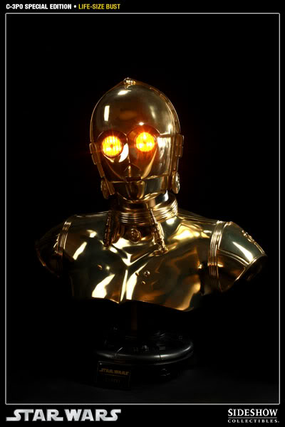 """Sideshow - C3PO Life Size Bust """"Special Edition"""" 400106_press03-001"""