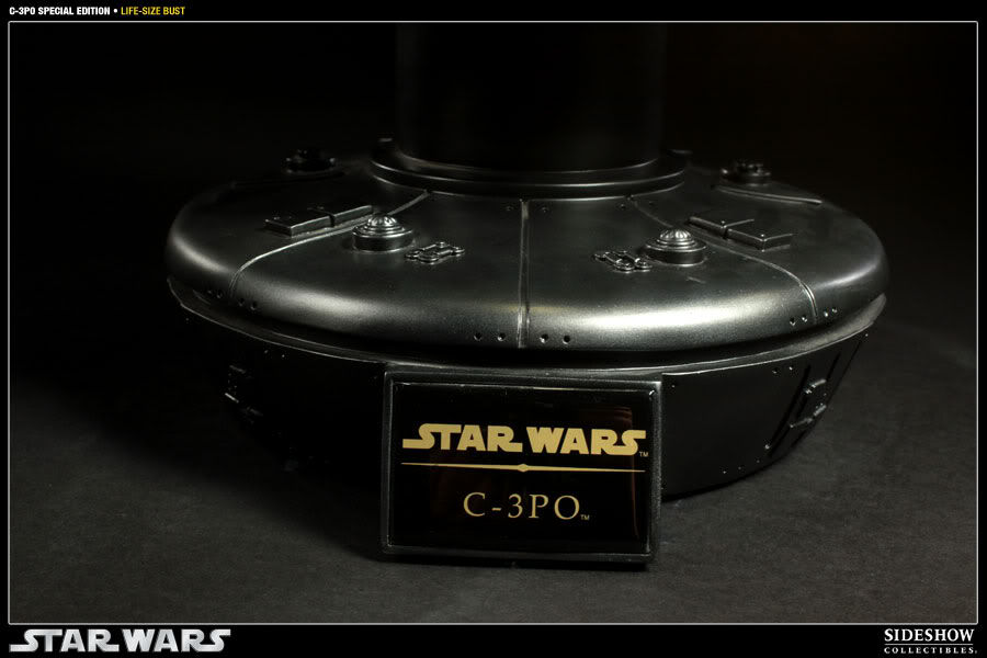 """Sideshow - C3PO Life Size Bust """"Special Edition"""" 400106_press04-001"""