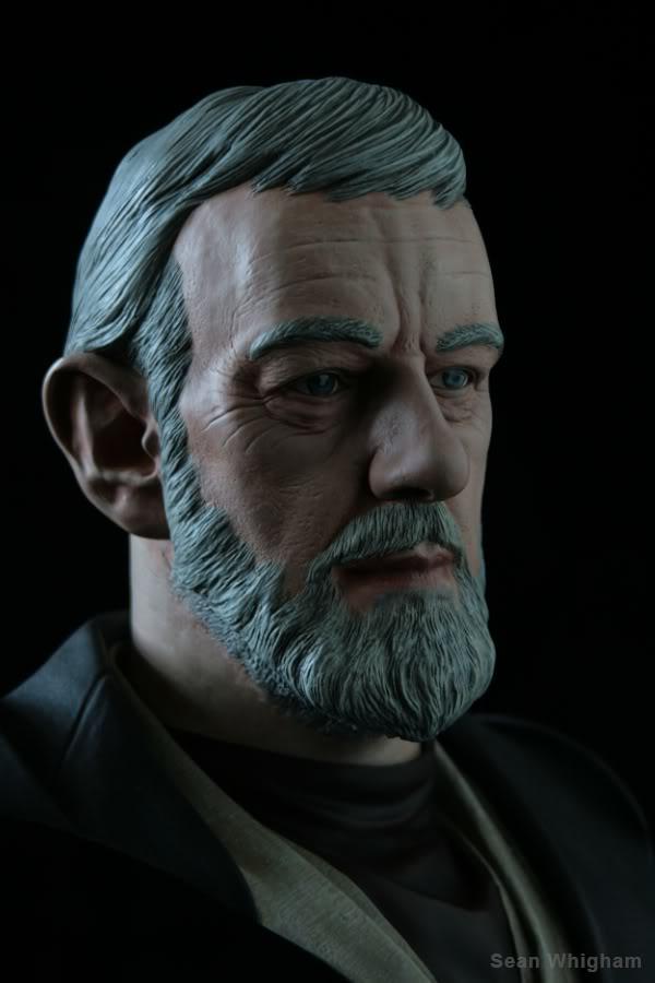 Ben Obiwan Kenobi- Legendary scaled bust - Page 2 5