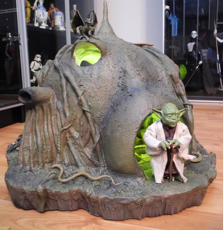 Sideshow - Yoda's Hut - Dagobah 5769253100_7c7f78eb45_b
