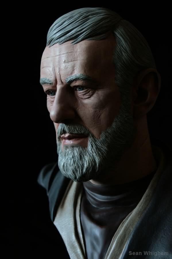 Ben Obiwan Kenobi- Legendary scaled bust - Page 2 6