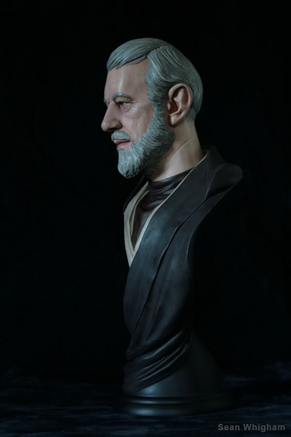 Ben Obiwan Kenobi- Legendary scaled bust - Page 2 9