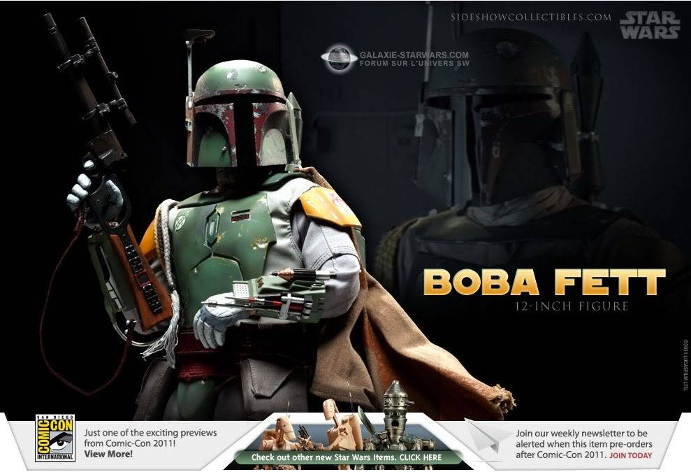 Sideshow - Boba Fett ESB - 12 inch Figure Bobafett