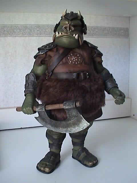 The Gamorrean Guard 12-inch Figure – Return of the Jedi DSC07474