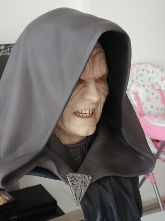 Sideshow - Darth Sidious Legendary Scale Bust – Star Wars  EyKBL