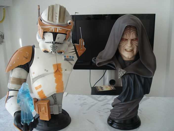 Sideshow - Darth Sidious Legendary Scale Bust – Star Wars  FGGfu