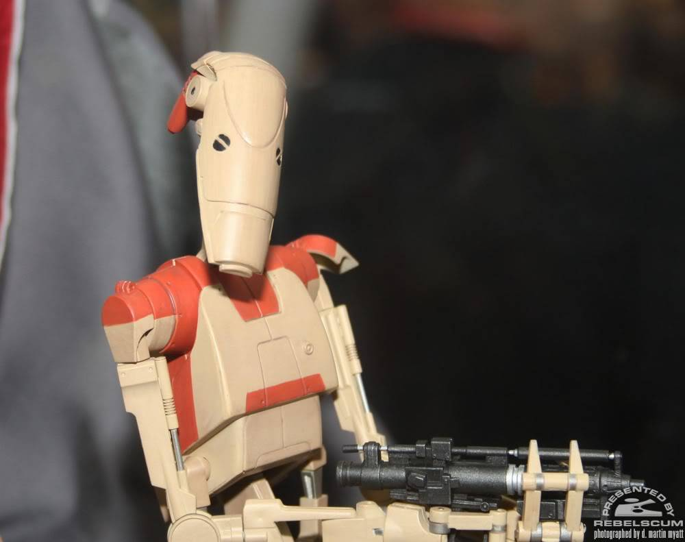 Sideshow - Security Battle Droid - 12 inch Figure IMG_0387