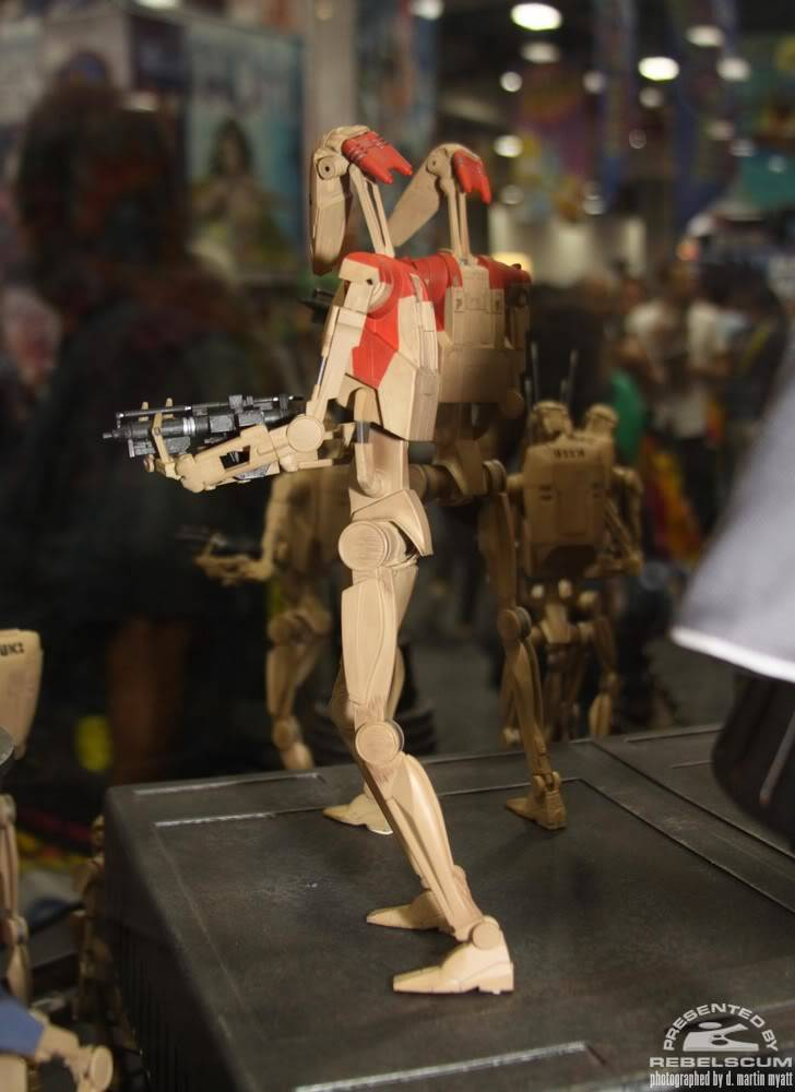 Sideshow - Security Battle Droid - 12 inch Figure IMG_0390