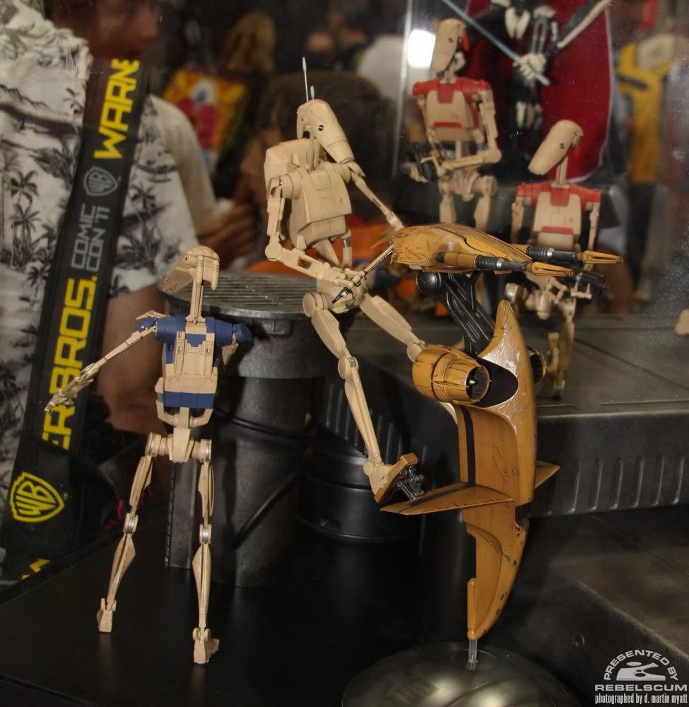 Sideshow - STAP Battle Droid 1/6 Scale Figure IMG_0402