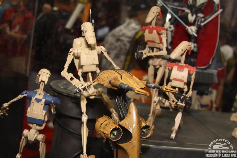 Sideshow - STAP Battle Droid 1/6 Scale Figure IMG_0404