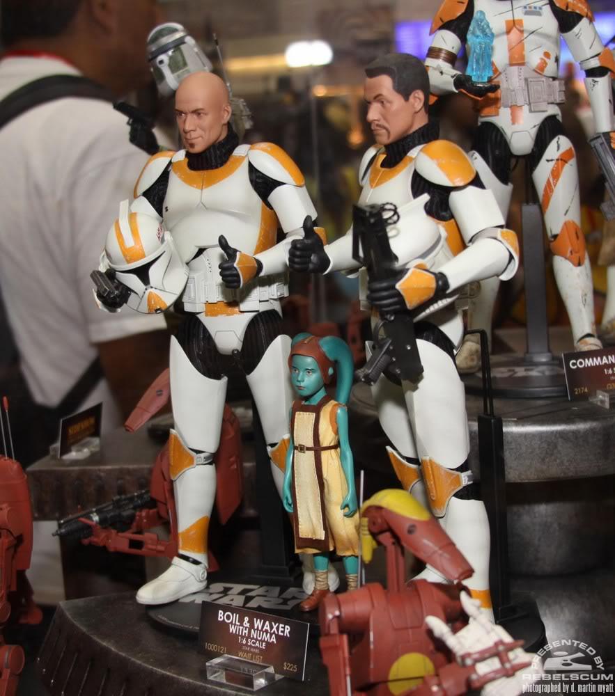 Sideshow - Boil & Waxer with Numa 12' figurines IMG_0444