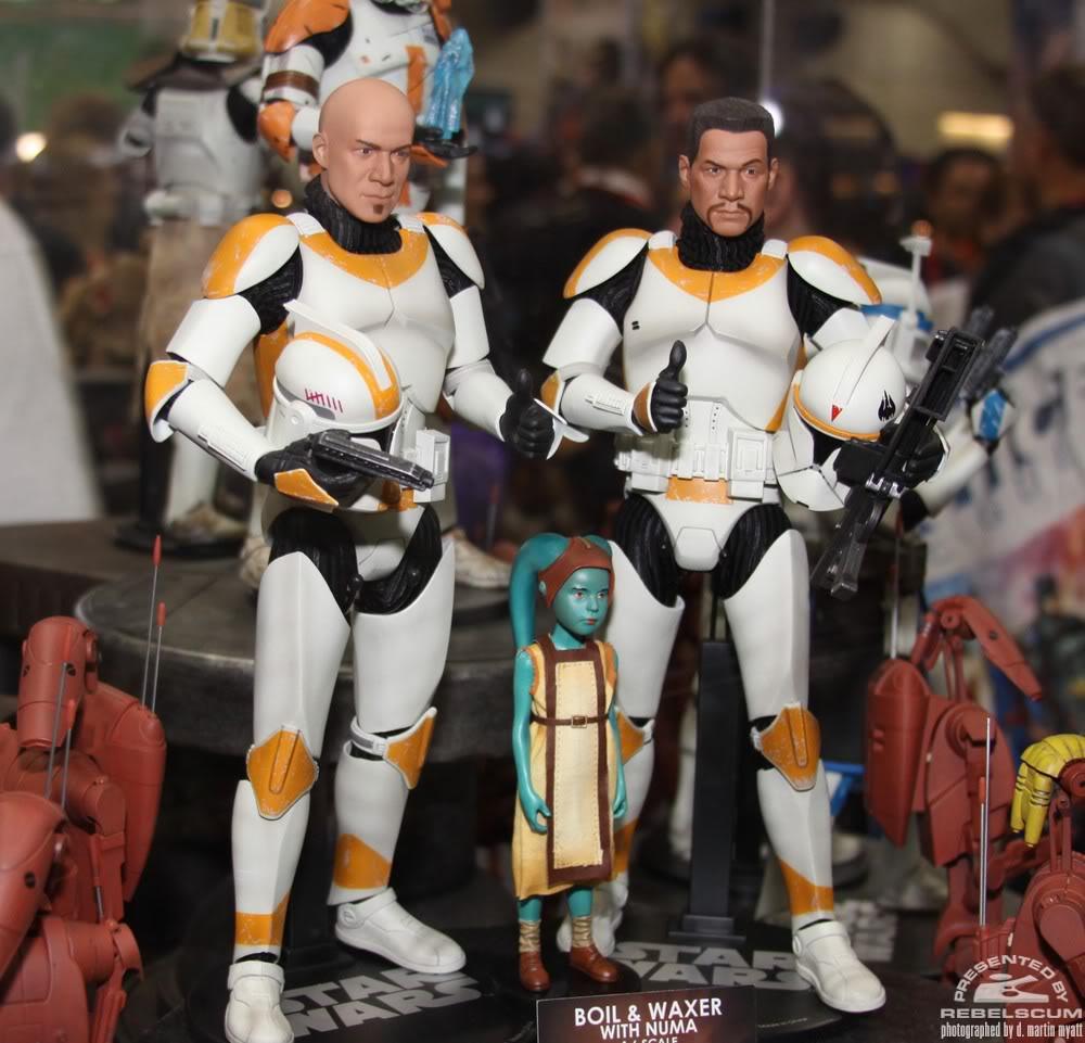 Sideshow - Boil & Waxer with Numa 12' figurines IMG_0445