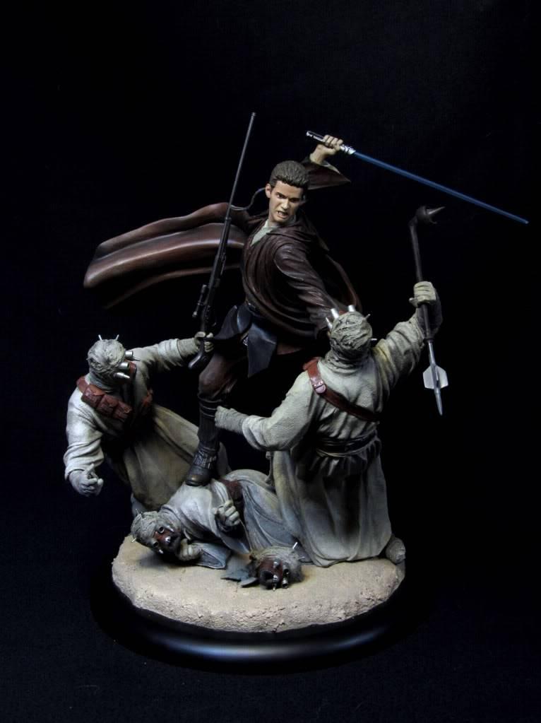 Sideshow - Revenge of the Jedi – Polystone Diorama IMG_3057-1