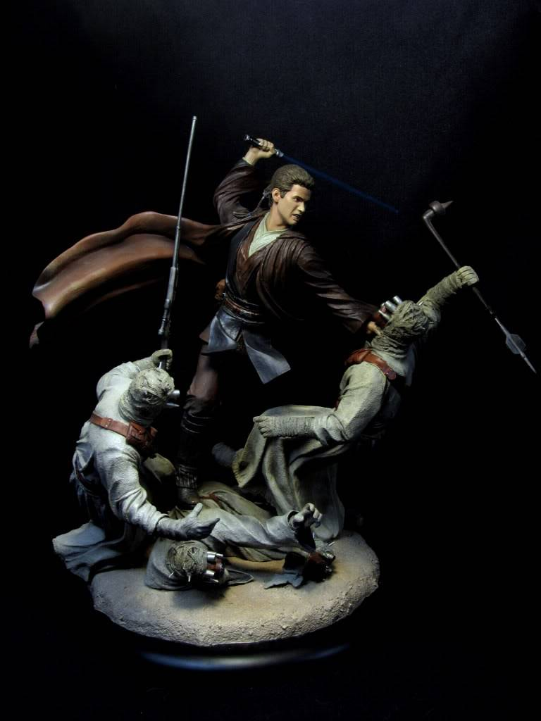 Sideshow - Revenge of the Jedi – Polystone Diorama IMG_3066-1