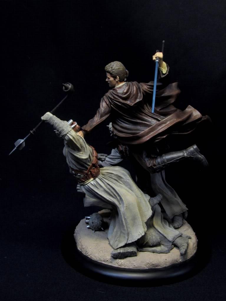 Sideshow - Revenge of the Jedi – Polystone Diorama IMG_3068