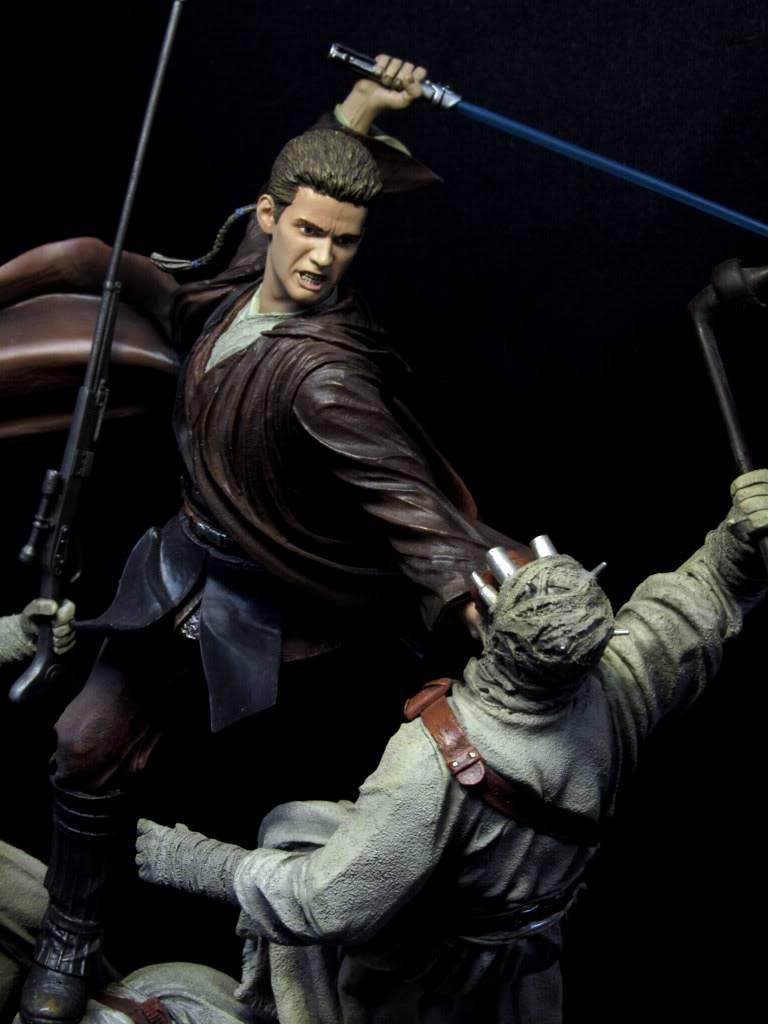 Sideshow - Revenge of the Jedi – Polystone Diorama IMG_3069