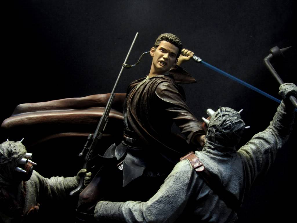 Sideshow - Revenge of the Jedi – Polystone Diorama IMG_3075