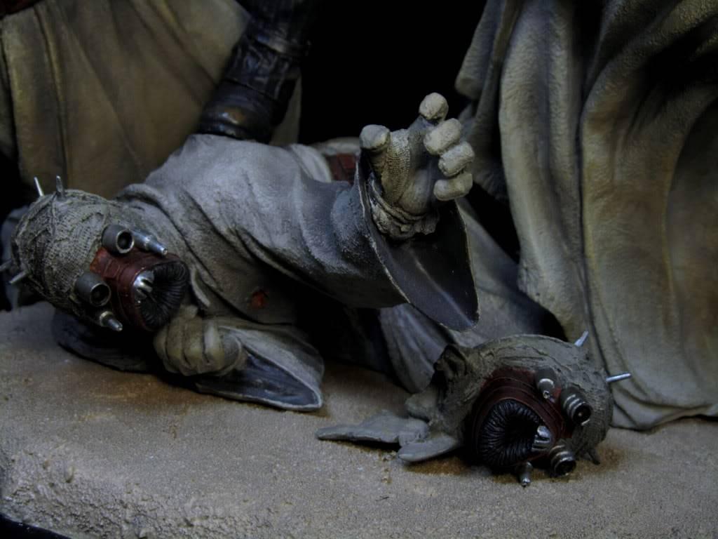 Sideshow - Revenge of the Jedi – Polystone Diorama IMG_3079