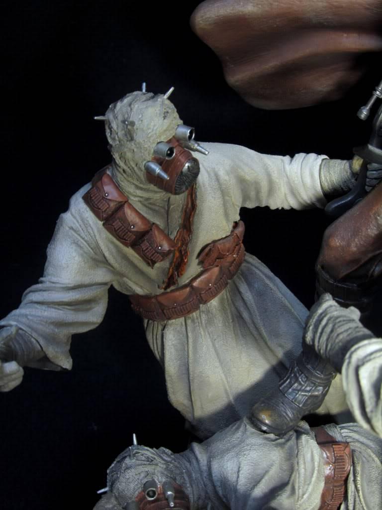 Sideshow - Revenge of the Jedi – Polystone Diorama IMG_3081