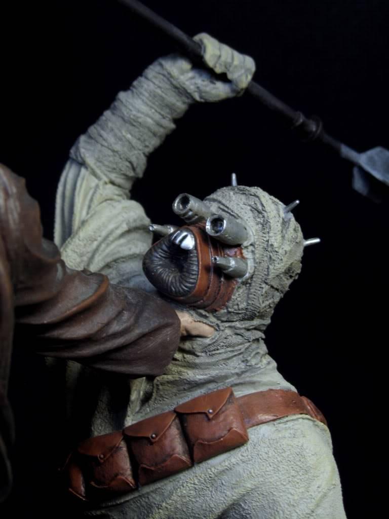 Sideshow - Revenge of the Jedi – Polystone Diorama IMG_3083