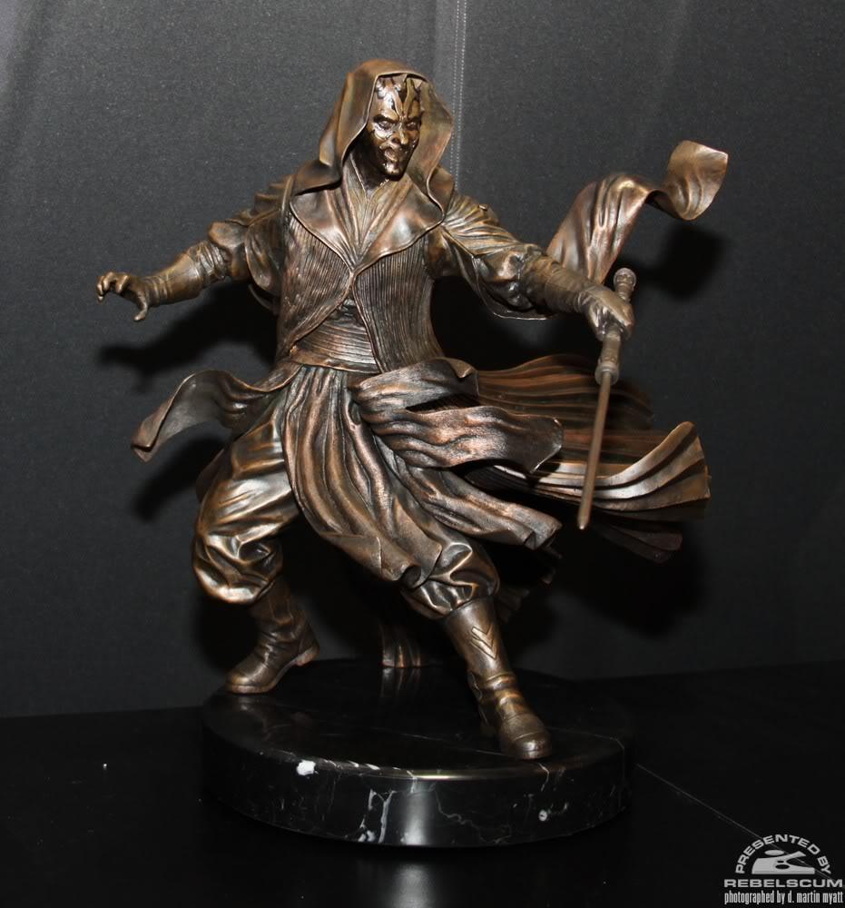 Sideshow - Darth Maul - Statue Bronze IMG_9360