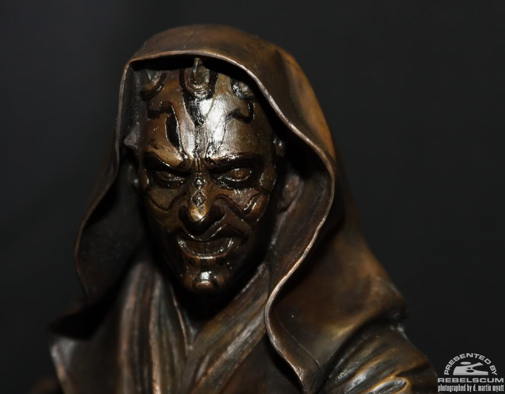 Sideshow - Darth Maul - Statue Bronze IMG_9363