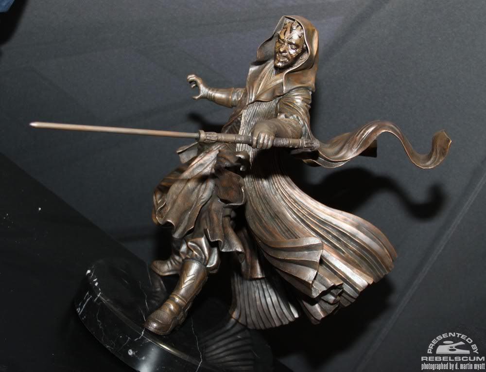 Sideshow - Darth Maul - Statue Bronze IMG_9364