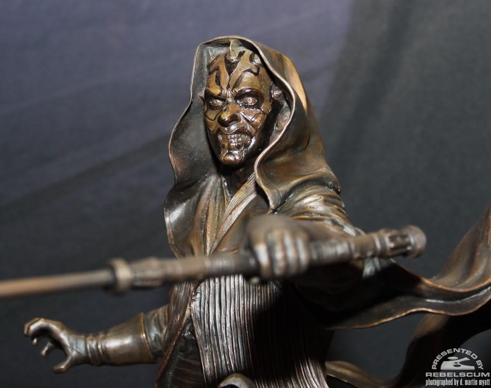 Sideshow - Darth Maul - Statue Bronze IMG_9366