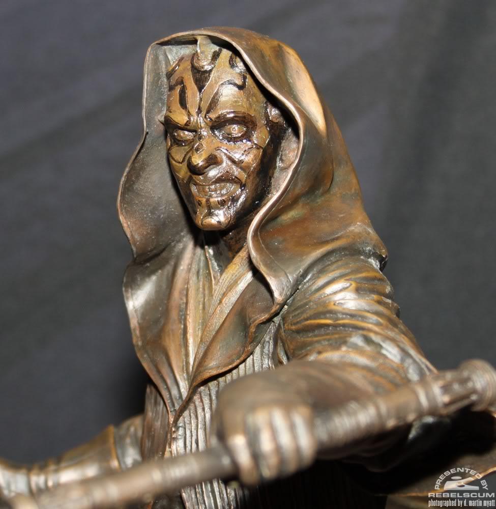 Sideshow - Darth Maul - Statue Bronze IMG_9368
