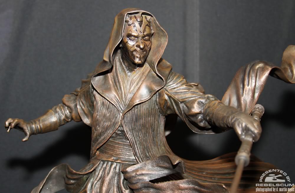 Sideshow - Darth Maul - Statue Bronze IMG_9369