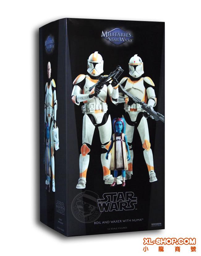 Sideshow - Boil & Waxer with Numa 12' figurines SS_SW_BoilWax_00