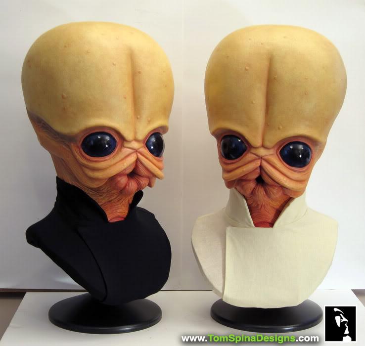Sideshow - Figrin D'an - Life Size Bust Sideshow-Star-Wars-Figrin-Dan-Bust-Sculpture-10_1