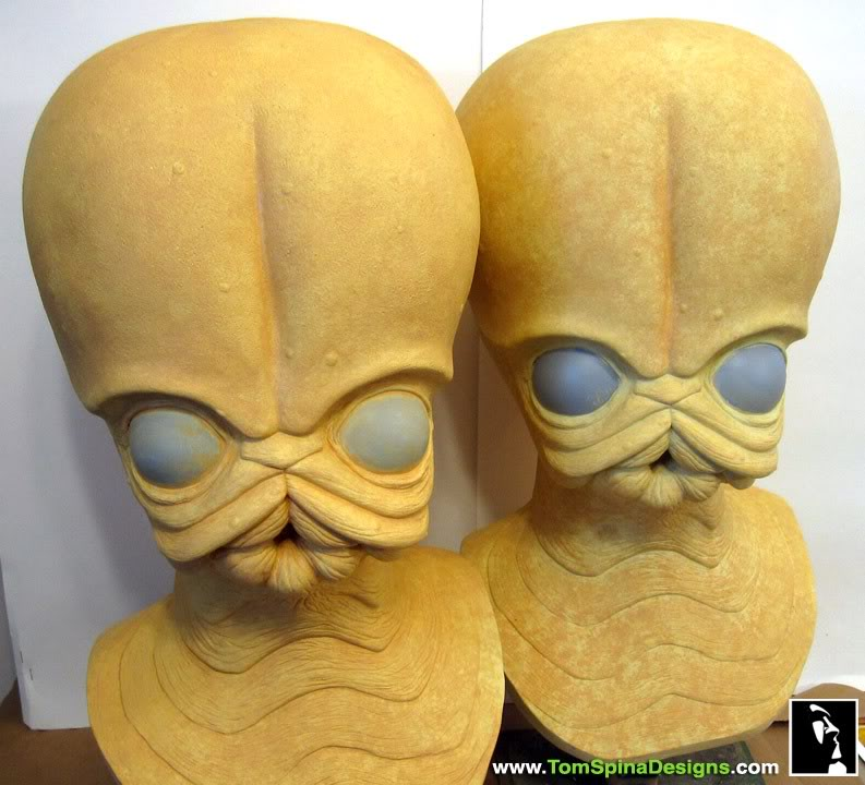 Sideshow - Figrin D'an - Life Size Bust Sideshow-Star-Wars-Figrin-Dan-Bust-Sculpture-8_1