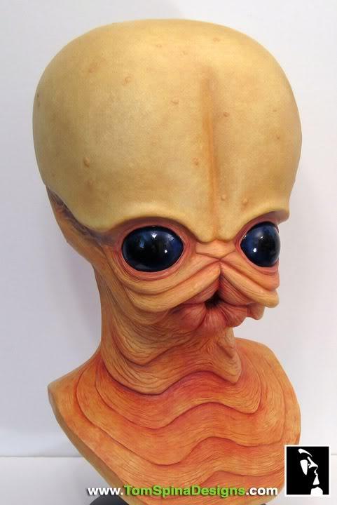 Sideshow - Figrin D'an - Life Size Bust Sideshow-Star-Wars-Figrin-Dan-Bust-Sculpture-9_1