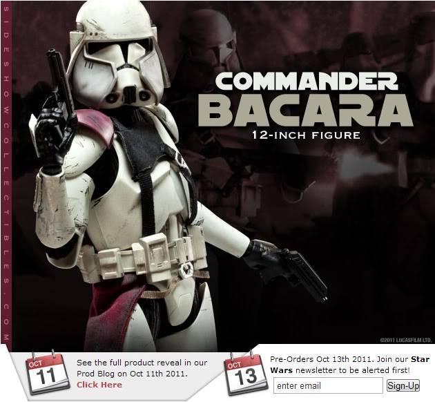 Sideshow - Commander Bacara - 12 inch Figure  Bacara