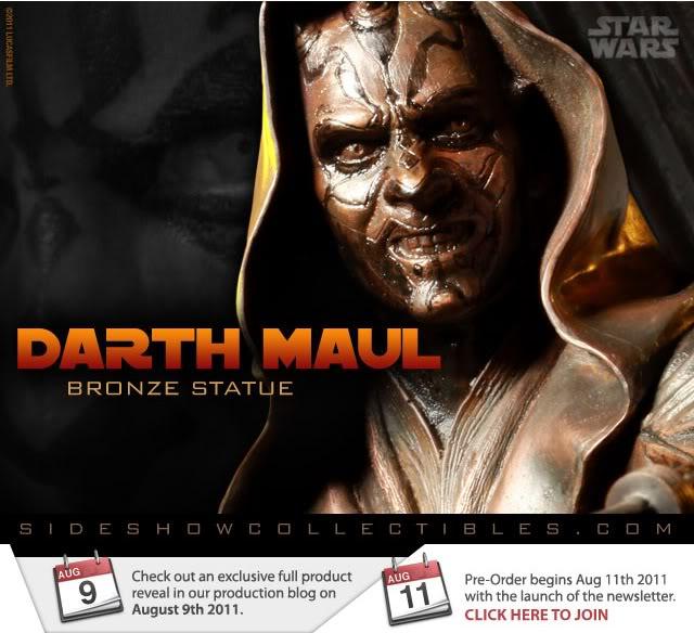 Sideshow - Darth Maul - Statue Bronze Maul-1
