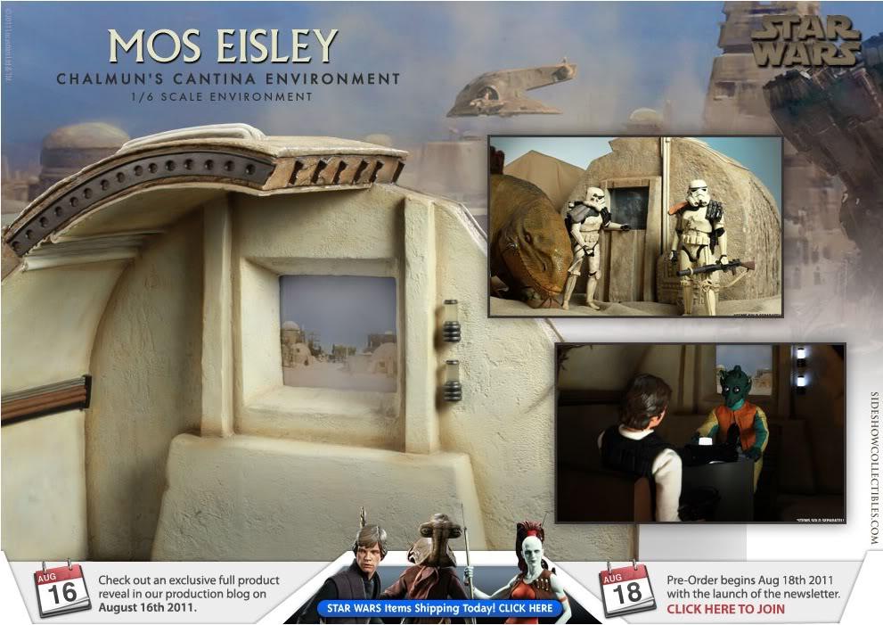 Sideshow - Mos Eisley Chalmun's Cantina Environment Moseisley