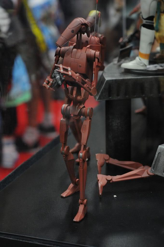 Sideshow - Infantry Geonosis Battle Droids  - 12 inch Figure Sdcc2011_sideshow_starwars_20