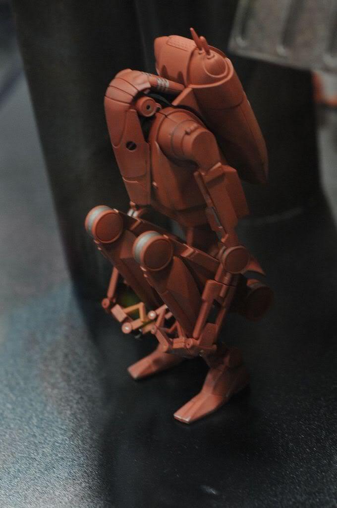 Sideshow - Infantry Geonosis Battle Droids  - 12 inch Figure Sdcc2011_sideshow_starwars_23