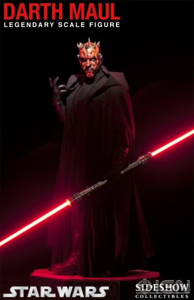 Sideshow - Darth Maul - Legendary Scale Figure  Sideshows-legendary-collectibles-20110719042641286-000