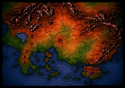 CONTINENT OF OVERDARK (South)