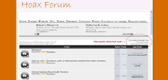Michael Jackson Hoax Death Investigators NEW WEBSITE! Lastpostsforum