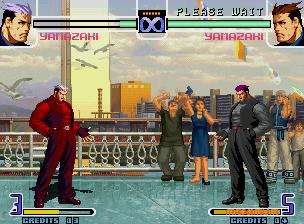 Alterar cor dos personagens do The King of Fighters ColoresnuevosByC