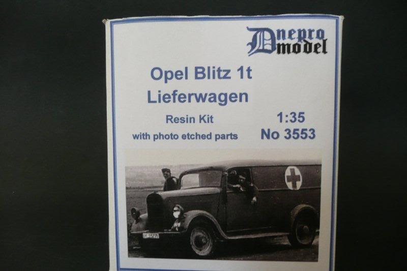 opel 1 ton - Opel Blitz 1t Lieferwagen Dnepromodel Dnepromodel-00