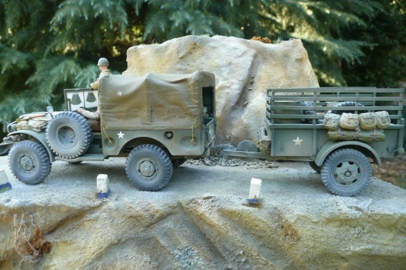 Traction Avant 11bl : kit Tamiya 1/35 P1040956