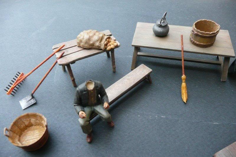 Paysans et accessoires Historex-accessoires