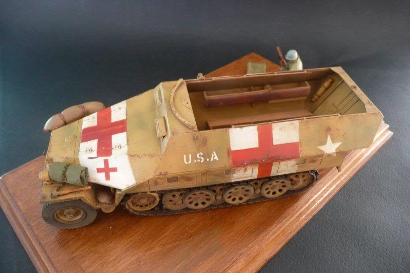Sdkfz 251/1  Ausf D Tamiya Sdkfz251-32