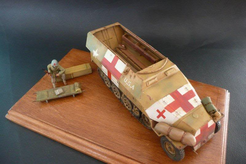 Sdkfz 251/1  Ausf D Tamiya Sdkfz251-33
