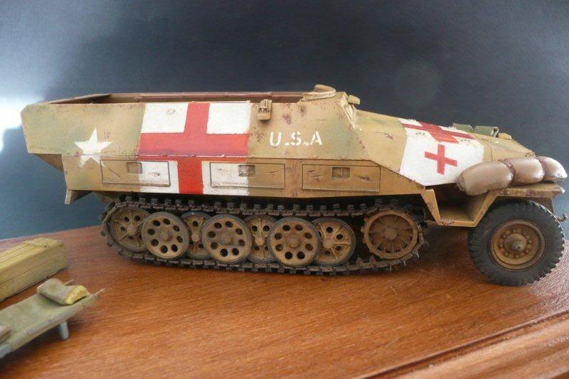 Sdkfz 251/1  Ausf D Tamiya Sdkfz251-34