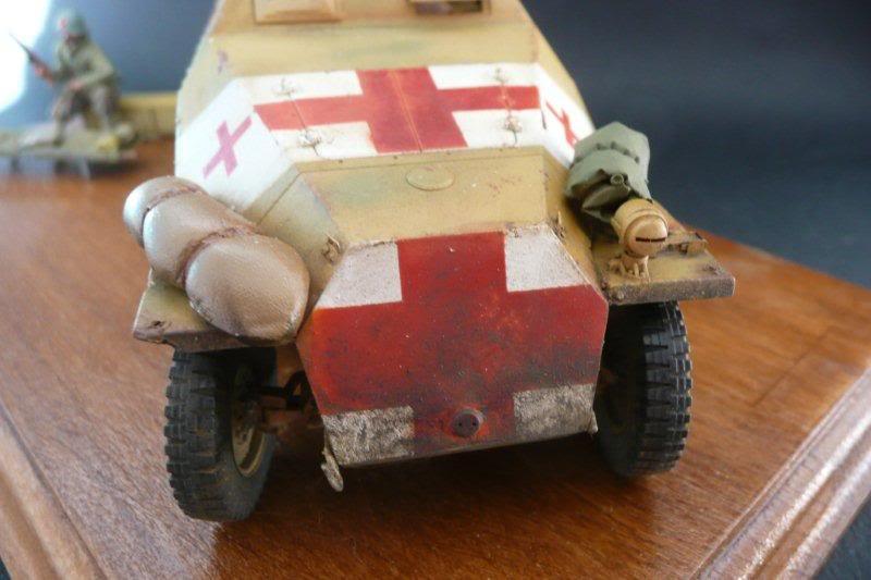 Sdkfz 251/1  Ausf D Tamiya Sdkfz251-36